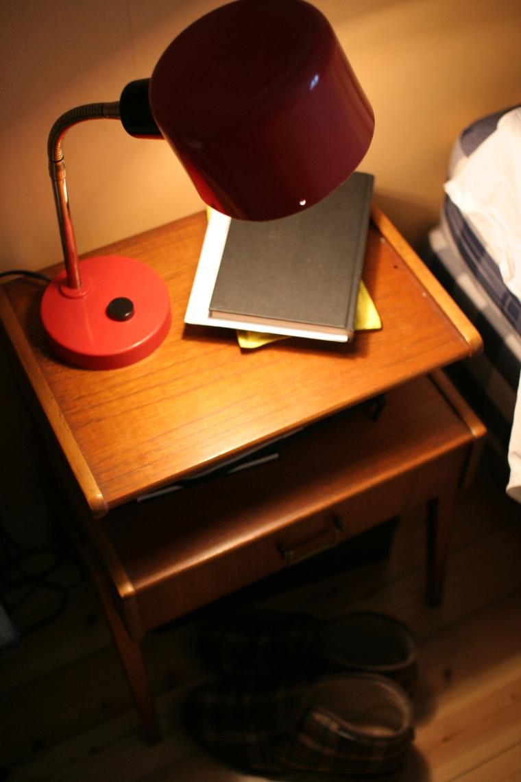 yöpöytä, 50-luvun yöpöytä